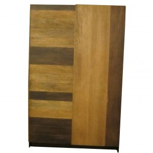 Wardrobe 2 Doors Mango Wood