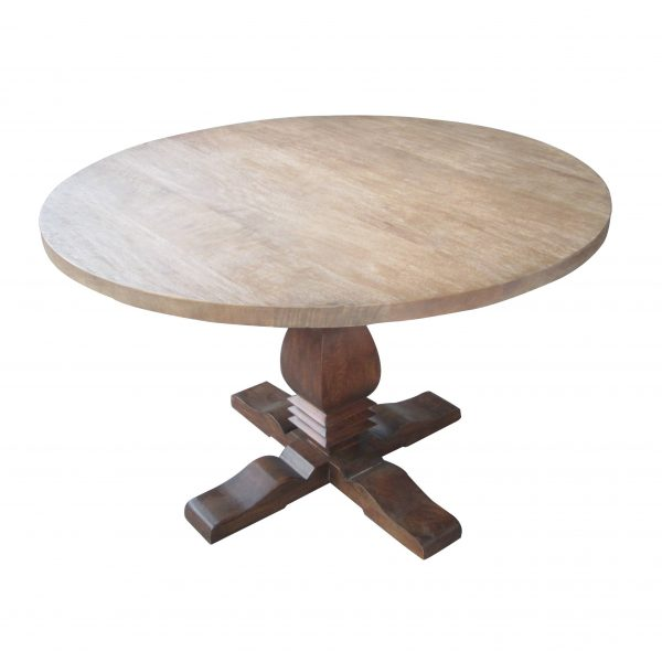 Col. Round Table Pedestal