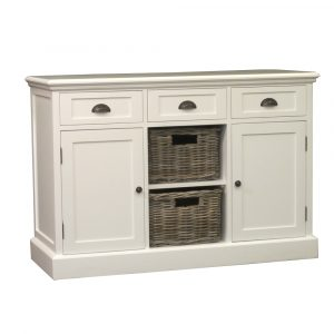 Saga Cabinet 3 Drawers 2 Doors
